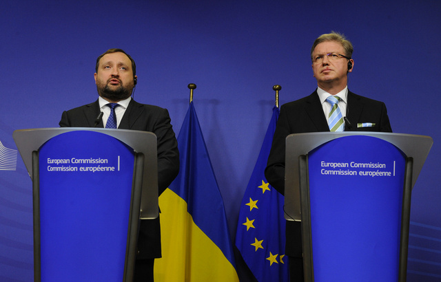 نائب رئيس الوزراء الأوكراني: سنوقع اتفاقية الشراكة مع الاتحاد الأوروبي قريبا