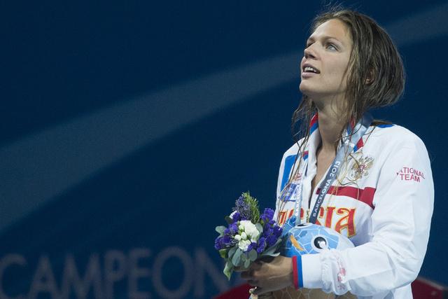 روسيا تحصد 3 ذهبيات في بطولة أوروبا للسباحة