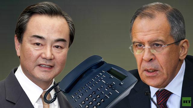 وزيرا خارجية روسيا والصين يؤكدان وحدة مواقفهما من