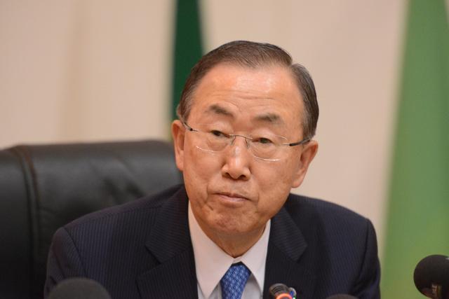 بان كي مون: جرى استهداف مدنيين ومواقع عسكرية بالأسلحة الكيميائية في سورية