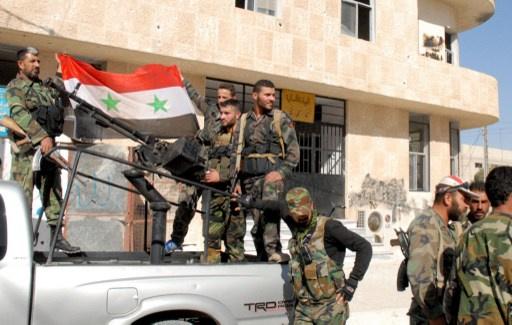 الجيش السوري يحقق تقدما في عدرا بريف دمشق بعد اشتباكات مع المسلحين