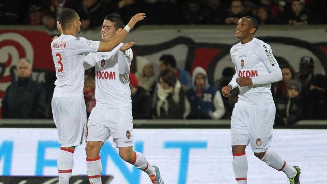 موناكو يواصل مطاردته لسان جيرمان في الدوري الفرنسي
