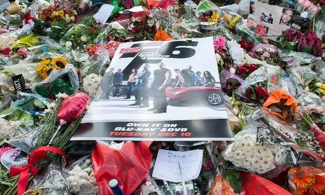 جنازة الممثل الأمريكي بول ووكر في كاليفورنيا