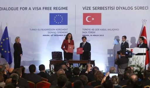 انقرة تخطو خطوة اولى نحو الغاء التأشيرات مع الاتحاد الاوربي