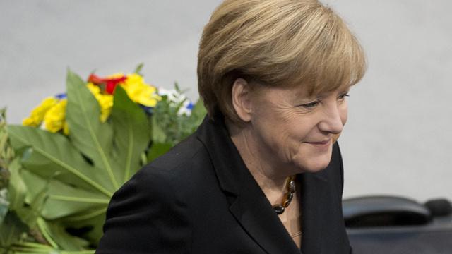 انتخاب ميركل مستشارة لألمانيا للمرة الثالثة على التوالي