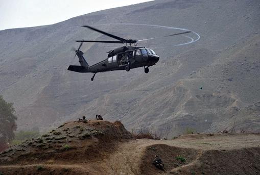 مقتل 6 جنود أطلسيين في تحطم مروحية بجنوب أفغانستان