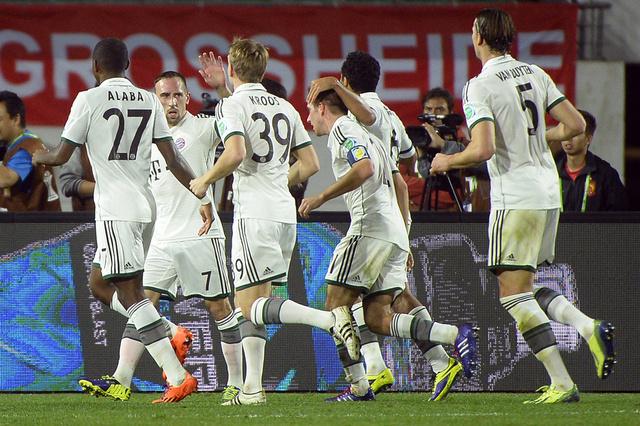 بايرن ميونيخ يعبر الى نهائي كأس العالم للأندية من بوابة إيفرجراند