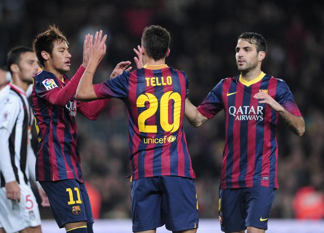 برشلونة يؤكد علو كعبه على قرطاجنة في كأس الملك