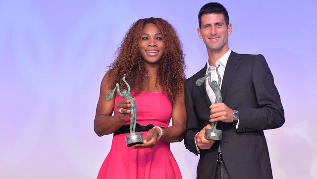 دجوكوفيتش وسيرينا وليامز الأفضل في عالم الكرة الصفراء لعام 2013