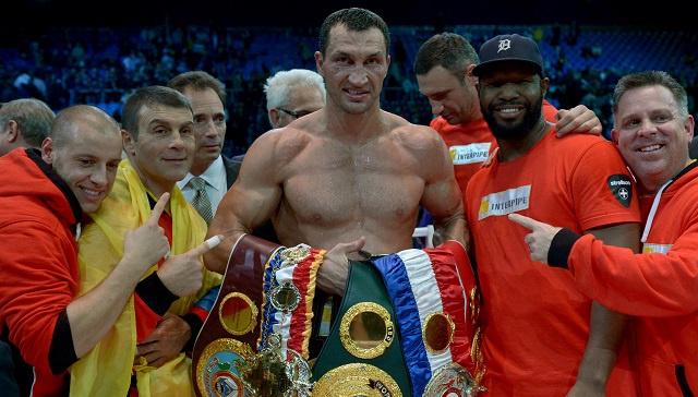 فلاديمير كليتشكو يسعى إلى الفوز بحزام شقيقه فيتالي