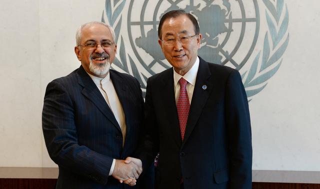 بان كي مون يأمل بمساعدة إيران في تسوية الأزمة السورية