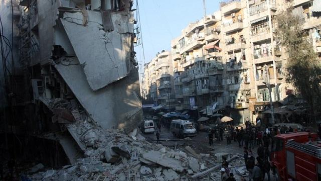 مشروع قرار أمريكي في مجلس الأمن الدولي لإدانة الغارات الجوية على حلب