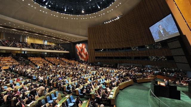 الجمعية العامة للأمم المتحدة تدين انتهاكات حقوق الإنسان في سورية وإيران وكوريا الشمالية