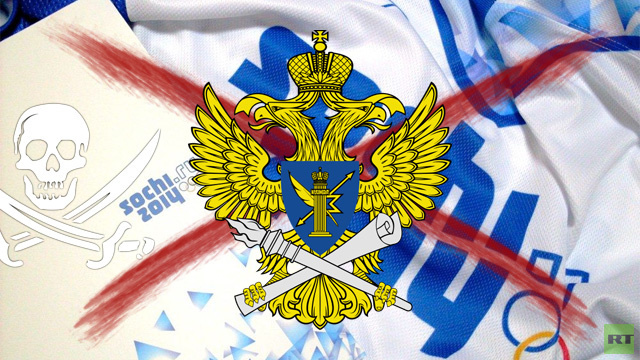 هيئة الرقابة على الاتصالات الروسية ستعزل اي بث قرصني لأولمبياد سوتشي