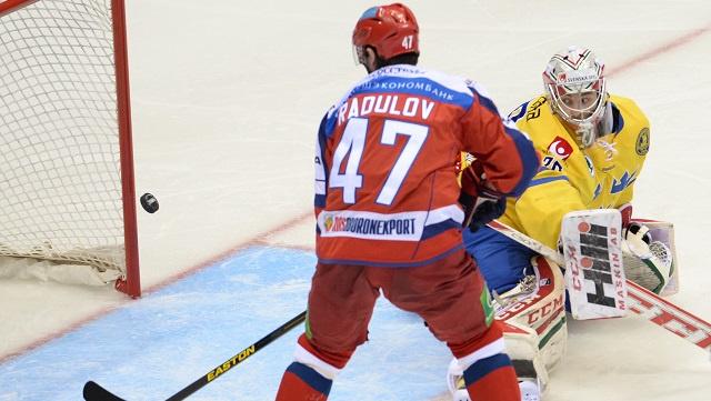 روسيا تفوز على السويد بهوكي الجليد