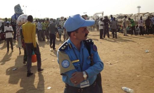 بعثة الامم المتحدة في جنوب السودان توجه الى العاصمة دورية لحماية السكان