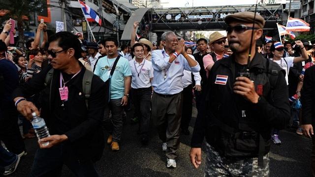 موجة جديدة من مظاهرات المعارضة في تايلاند تطالب بإصلاح نظام الانتخابات