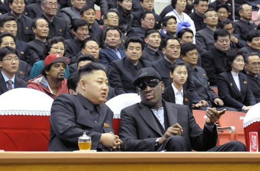بالفيديو... نجم السلة الأمريكي رودمان يزور كوريا الشمالية وينوي لقاء كيم جونغ أون