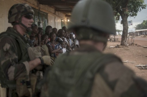 هجوم لمسلحين اسلاميين على معسكر فرنسي في أفريقيا الوسطى
