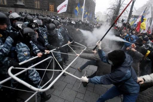 السلطات الأوكرانية ترفع دعوى جنائية بحق أشخاص بتهمة محاولة الإطاحة بالحكم