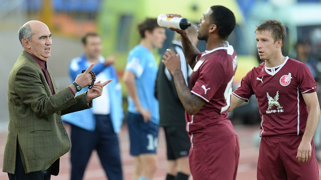 إقالة المدرب الخبير قربان بردييف ايقونة فريق روبين قازان