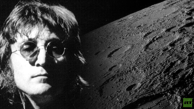 اطلاق أسم جون لينون على بركان في كوكب المشتري