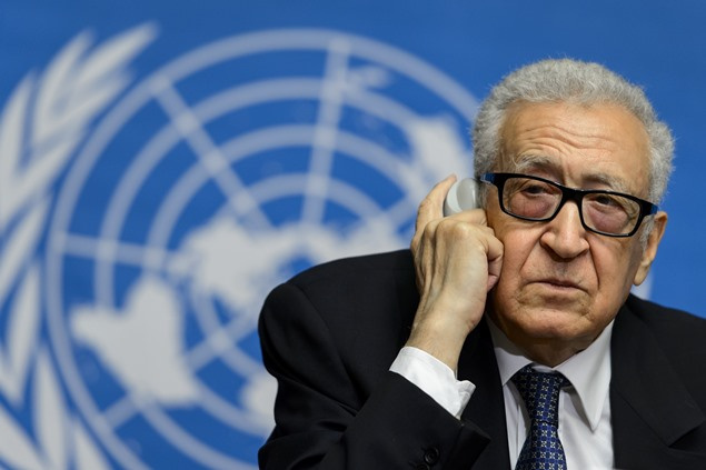 الإبراهيمي: اتفقنا على الكثير لكننا لم نتفق على مشاركة إيران في مؤتمر