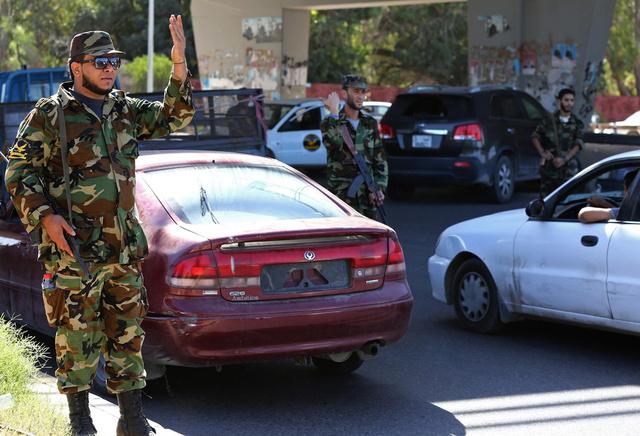 اغتيال رئيس فرع بنغازي للاستخبارات العسكرية الليبية
