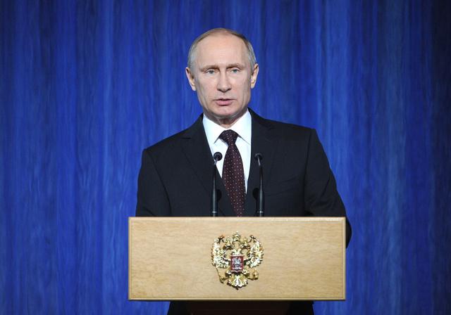 بوتين: احباط 12 عملية ارهابية وتصفية أكثر من 250 عنصرا مسلحا في روسيا العام الجاري