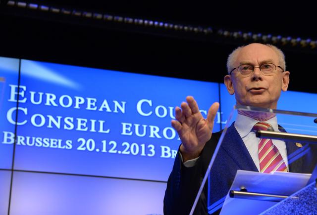 فان رومبي: مستقبل أوكرانيا مرتبط بأوروبا ولا أحد يمكن أن يحول دون ذلك