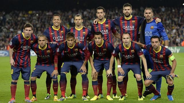 برشلونة النادي الأكثر ثراء في العالم في 2013