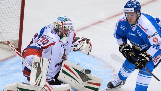 فنلندا تفوز على روسيا بهوكي الجليد في سوتشي
