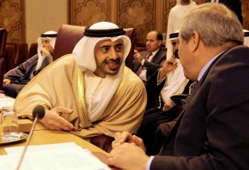 وزير الخارجية الإماراتي يؤكد في القاهرة دعم بلاده الكامل لمصر