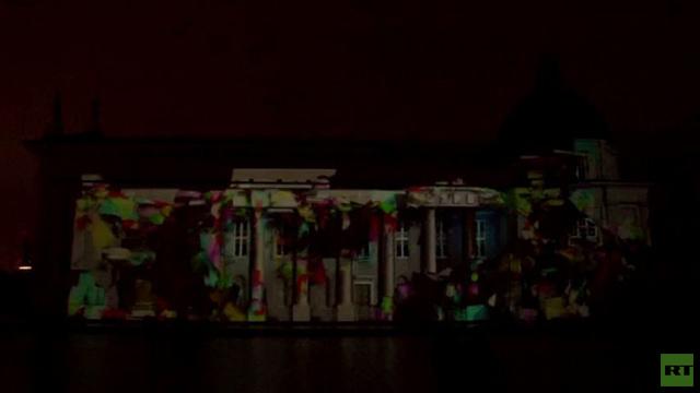 بالفيديو .. لن تصدق حتى تشاهد .. جدران الكنيسة يعاد تشكيلها في فيلنيوس بتقنية ثلاثية الابعاد