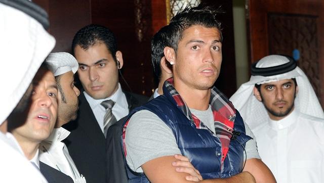 كريستيانو رونالدو يشارك في مؤتمر دبي الرياضي الدولي 2013