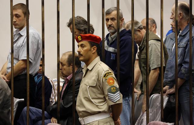لافروف يناقش مع نظيره الليبي مصير الروسيين المعتقلين في ليبيا