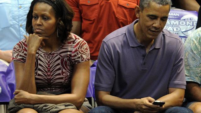 موقع: باراك وميشال أوباما يستعدان للطلاق