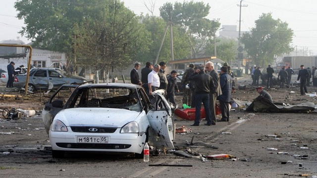 مقتل 3 مسلحين وجرح شرطيين في داغستان
