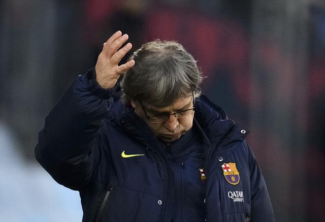 برشلونة ينفي رغبة مدربه تاتا في الرحيل عن الـ