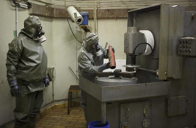 اجتماع مغلق في موسكو الجمعة حول نقل الأسلحة الكيميائية إلى خارج سورية