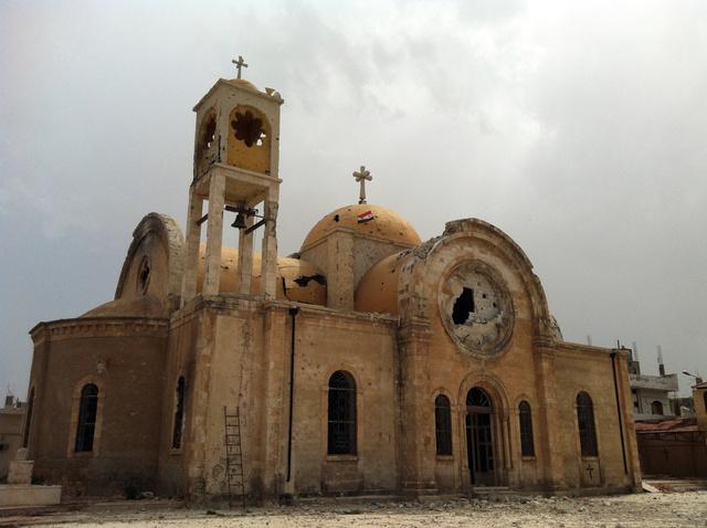 الجمعية الامبراطورية الأرثوذكسية الفلسطينية تدعو بان كي مون إلى حماية المسيحيين في سورية