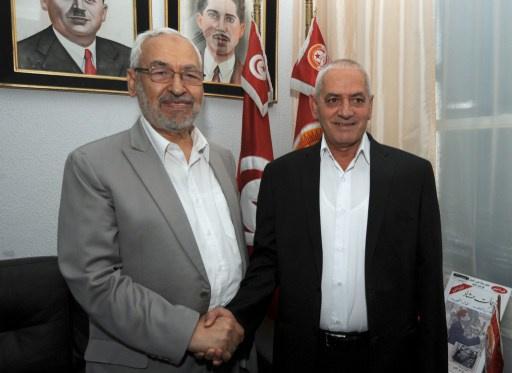 تونس: راشد الغنوشي وحسين العباسي يتلقيان تهديدات بالتصفية الجسدية