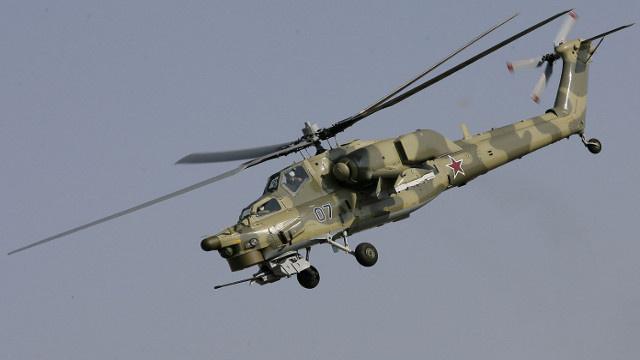 الجيش الروسي يتسلّح رسميا بمروحية