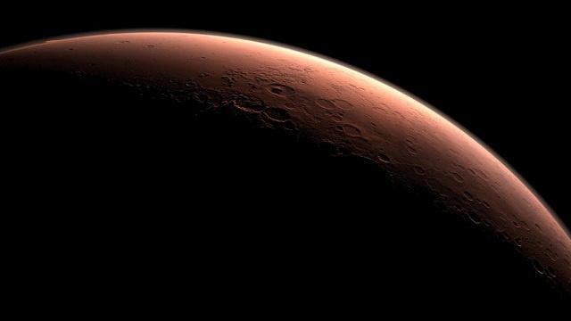 هل يتساقط الثلج في عيد الميلاد على المريخ؟