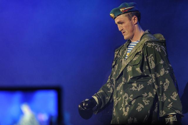 الملاكم الروسي ليبيديف يقيم معسكرا تدريبيا في الولايات المتحدة
