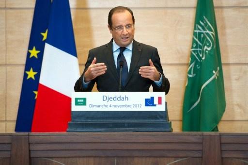 هولاند: لدى السعودية وفرنسا مواقف مشتركة بشأن الأزمة السورية