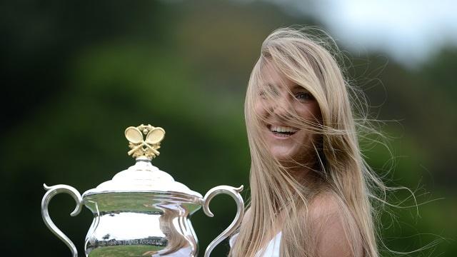 البيلاروسية فيكتوريا أزارينكو بطولة استراليا المفتوحة للتنس، أولى البطولات الأربع الكبرى