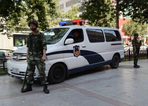 قوات الامن الصينية تقتل 8 أشخاص هاجموا مركزا للشرطة شمال البلاد