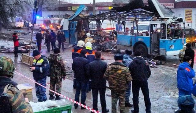أكثر من 40 بين قتيل وجريح في تفجير حافلة نفذه انتحاري بفولغوغراد جنوب روسيا