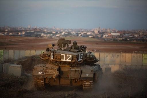 اصابة فلسطينيين برصاص الجيش الاسرائيلي في قطاع غزة